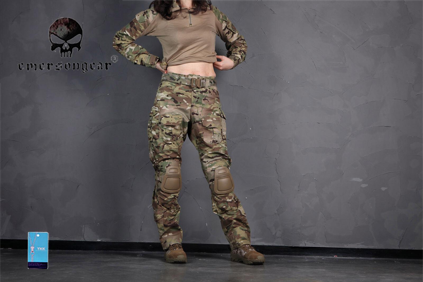 Emerson Military Hunting BDU  G3 Combat Uniform Woman Shirt & Pants MultiCam  limited edition
