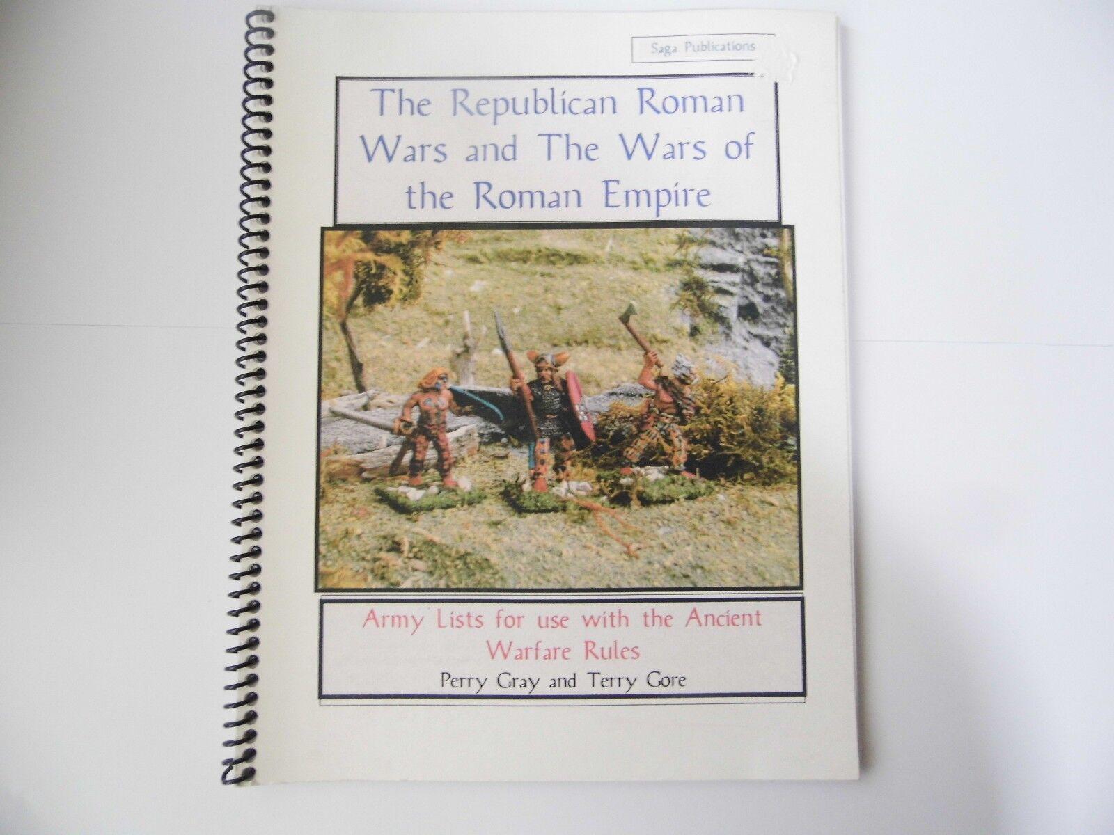 The Republican Roman Wars et The Wars Of The Roman Empire - Wargames Règles