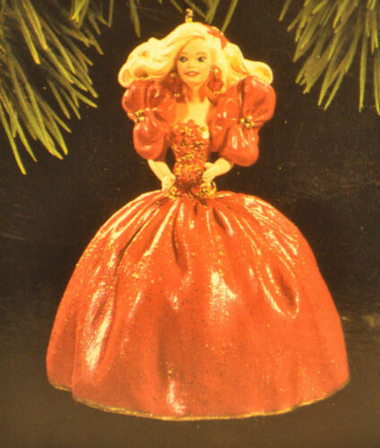 Holiday Barbie 1993 Classic Ornament Hallmark Series 1st