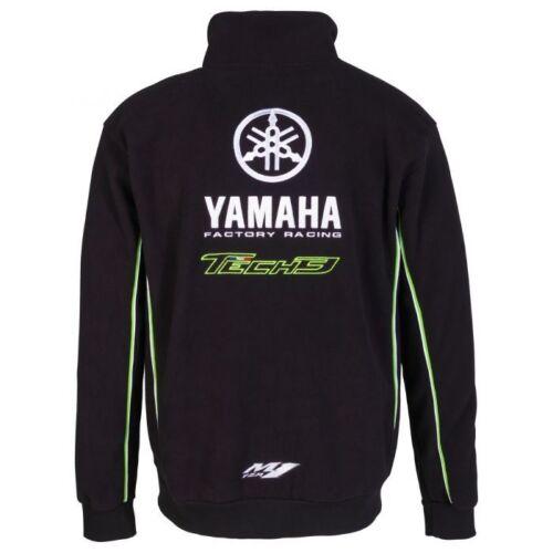 ufficiale Felpa 3 Team 17t3yam af Yamaha wYOU4nqO