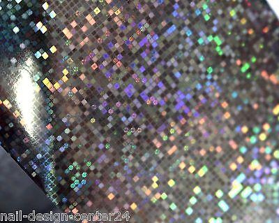 TransferFolie Folie Nagelfolie silber irisierend Zauberfolie AS-16