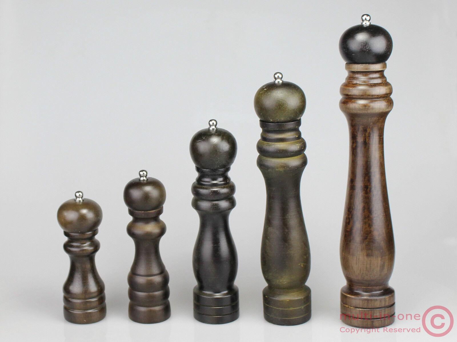 Wooden manual salt/&pepper grinder//mill,stainless steel grinder,adjusting coarse