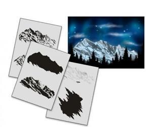 Step-by-Step-Airbrush-Schablone-AS-163-Tattoo-Stencil-UMR-Design