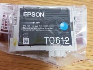 Epson-Stylus-D68-D88-DX3800-DX4200-DX4800-Cyan-T0612-Ink-Cartridge