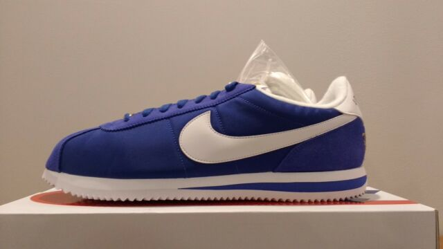 big sale 89631 40623 Men's Nike Cortez Basic Nylon Prem Long Beach Blue LBC Brand New Size 11.5