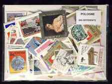 Pologne - Poland 200 timbres différents