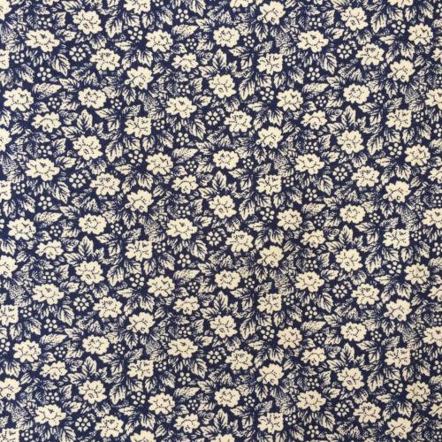 Ambrose Mini flower 100/% cotton fabric  sold per fat quarter half metre or metre