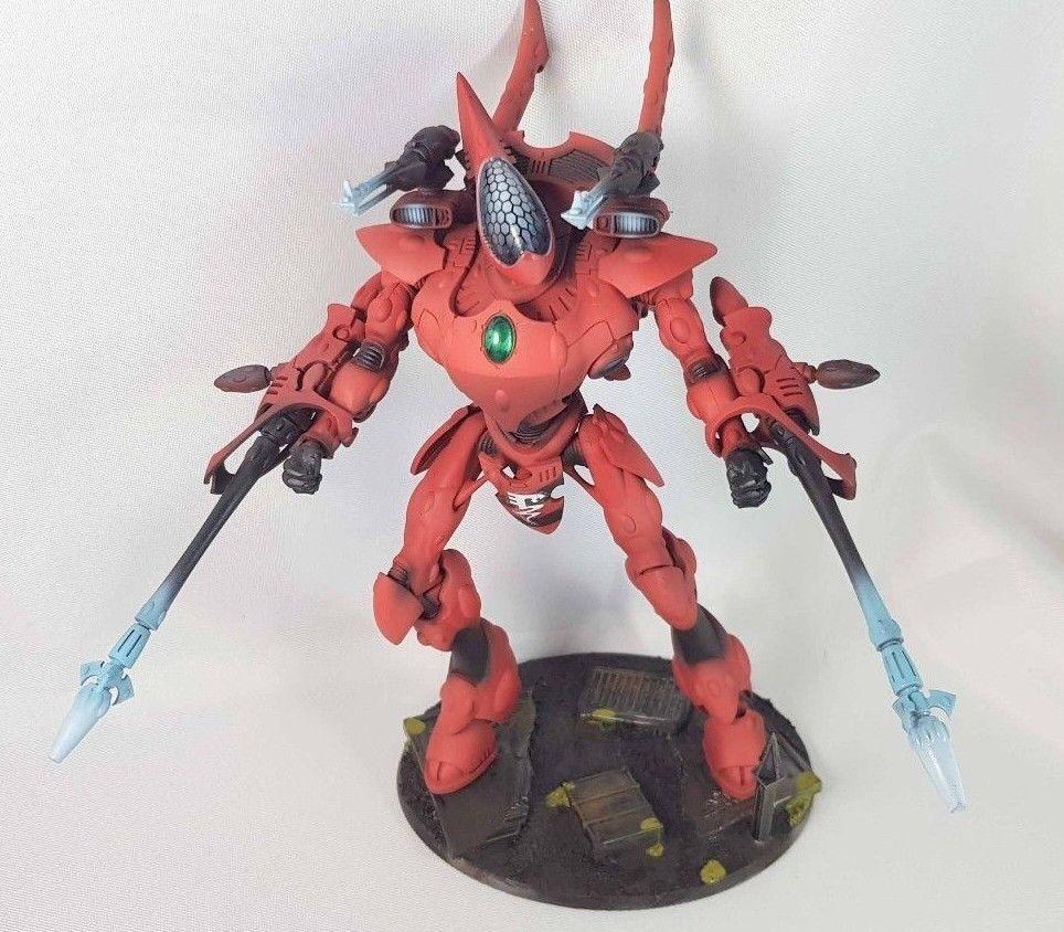 Warhammer 40k - Eldar Craftworlds - Wraithknight - Painted