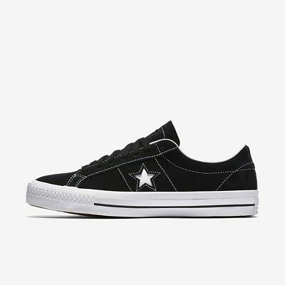 Men's Converse CONS One Star Pro Low Top Skate Shoes, 149908C Sizes 9 13 BlackW | eBay