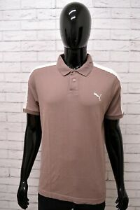 Polo-PUMA-Uomo-Taglia-M-Maglia-Maglietta-Camicia-Shirt-Man-Cotone-Manica-Corta