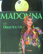 "MADONNA ~ Dress You Up / Shoo Bee Doo ~ 12"" MAXI Single PS USA PRESSING"