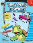 First Grade Activities, Grade 1 by Teacher Created Resources (Paperback / softback)