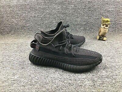 adidas Juniors Yeezy Boost 350 V2 Black Shoes FU9006