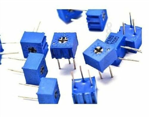 10Pcs 3362P-502 3362 P 5K Ohm High Precision Variable Resistor Potentiometer yi