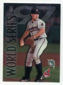 1998-Topps-Chrome-CHAD-OGEA-Rare-WORLD-SERIES-SUBSET-282-Cleveland-Indians