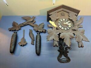 Cuckoo Coo Clock Germany W Weights