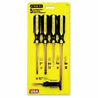 Stanley Tools 5-piece 100 Plus Combination Screwdriver Set - Bos66150 on sale