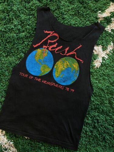 Vintage Rush 1978 Tour Of The Hemispheres Cut Off