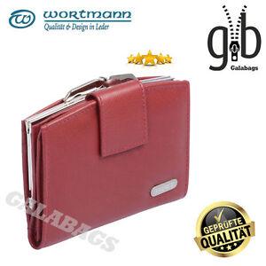 Damengeldboerse-Knipsboerse-Geldboerse-Portemonnaie-hochwertiges-Leder-3511403