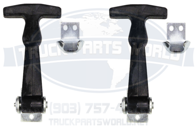 Buyers Products WJ201U Truck and Trailer Rubber Hood Latch