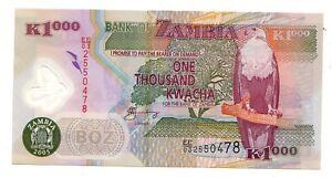 Zambia-1000-kwacha-2005-FDS-UNC-pick-44-d-lotto-3597