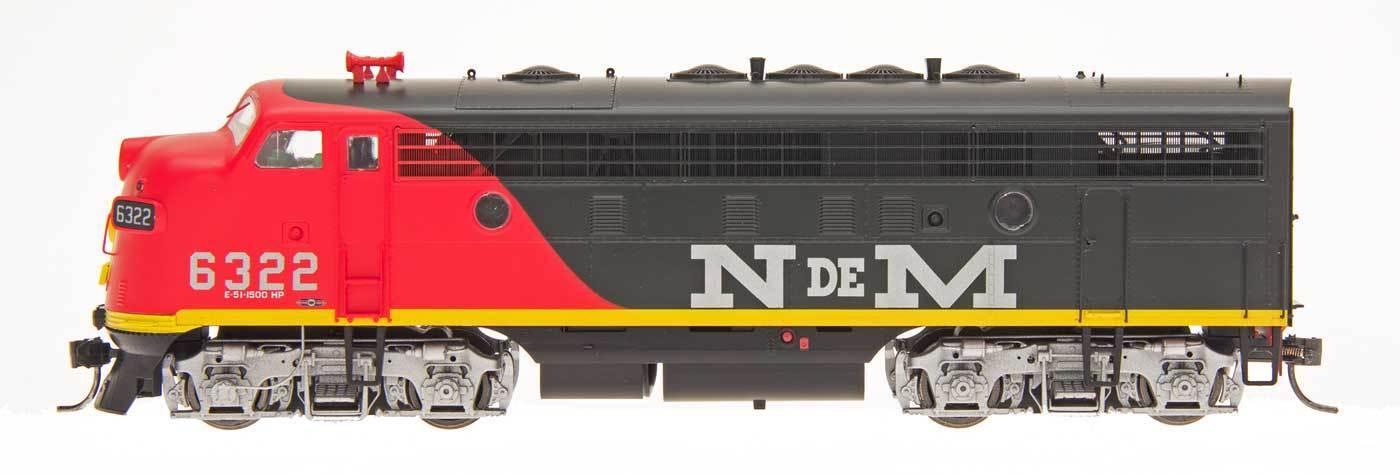 InterMountain HO 49067(S) N de M  F7A Locomotive
