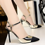 Womens-stilettos-pointed-toe-high-heels-sandals-shoes-ankle-strap-buckle-chic thumbnail 12