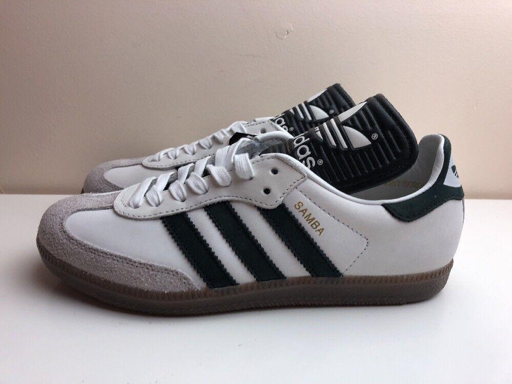 Adidas Originals Samba Clásica og Hecho en Alemania Reino BB2587 Unido 6 /3 Blanco BB2587 Reino 686e98