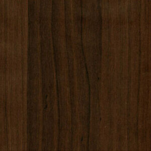Dark Walnut Wood Wallpaper Design Grain Pattern Self