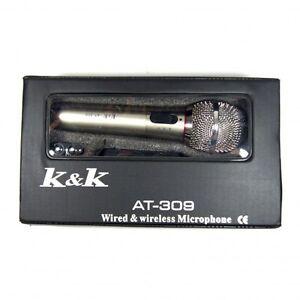 MICRO-SANS-FIL-ET-AVEC-FIL-XLR-AT-309-100-NEUF-Soiree-Karaoke