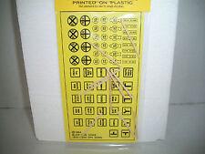 Blair Line Vintage Traffic Signs w/posts HO Scale #144