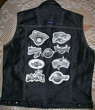 Mens NBA Logo Basketball Vest by STAREX sz Large Boston Los Angeles San Antonio