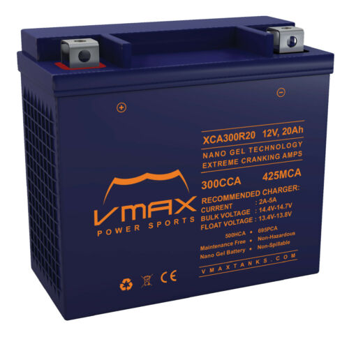 XCA300R20 SNOWMOBILE BATTERY YTX20H-BS UPGRADE Arctic Cat Lynx 2000 565 2015-17
