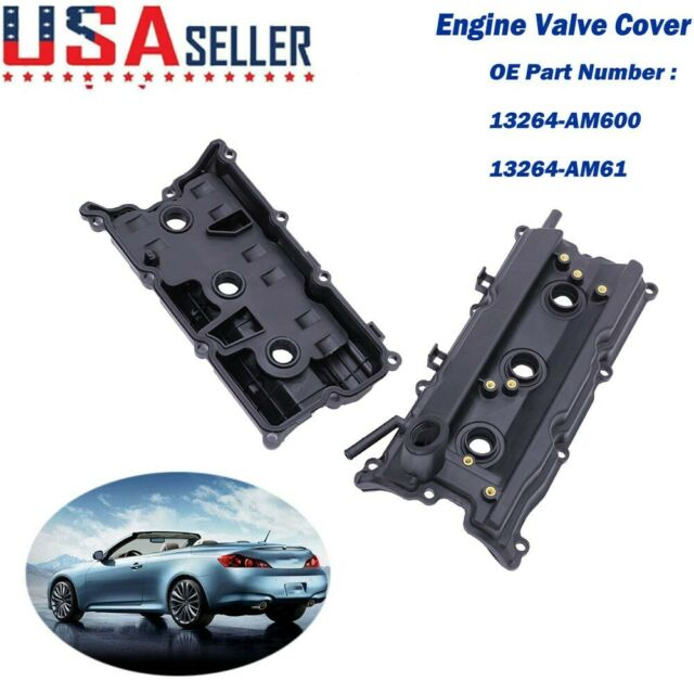 Left  U0026 Right Engine Valve Covers For Nissan 350z Infiniti