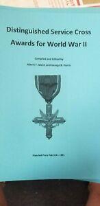 WW-II-US-Army-DSC-Gallantry-Medal-Award-Book-Planchet-Press-5050-Plus-Names