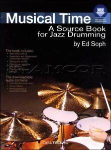 Musical Temps Une Source Book For Jazz Drumming Livre Audio/mÊme Jour ExpÉdition-afficher Le Titre D'origine Vente Chaude 50-70% De RéDuction