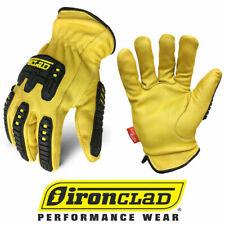 Ironclad Ild Impc5 Ultimate 360 Premium Leather Work Gloves Select Size
