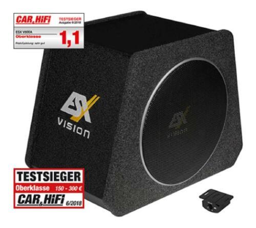 """8/"""" activo-subwoofer-System ESX v-800a Vision trapecio activamente-subwoofer 20 cm"""