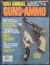 Magazine GUNS & AMMO ANNUAL 1983 !!! DAN WESSON Model 44 MAGNUM REVOLVER !!!