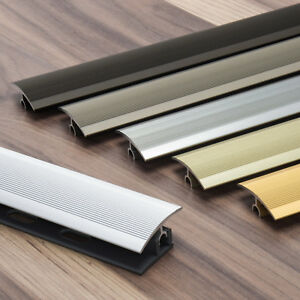 90-cm-6-Farben-Ubergangsprofil-PROFI-TEC-34mm-Parkett-Laminat-Abschlussprofil