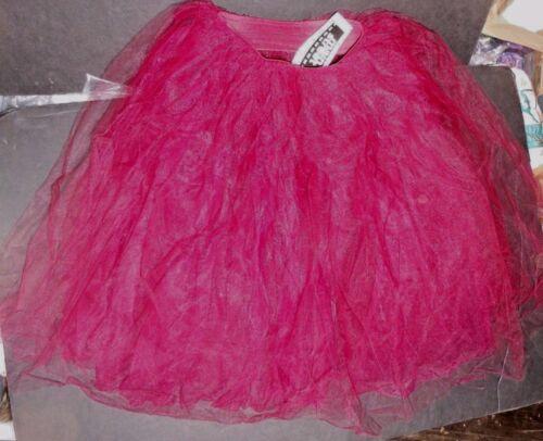 "or Red 30/"" long adlt 4919 NWT Soft CHIFFON TULLE  ROMANTIC Tutu Royal,black,wne"