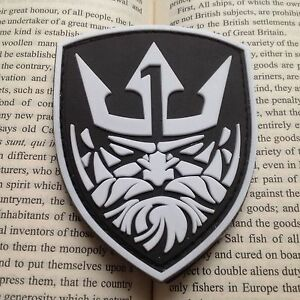 GLOW-MEDAL-OF-HONOR-3D-MOH-KING-NEPTUNE-TACTICAL-AIRSOFT-3D-PVC-PATCH