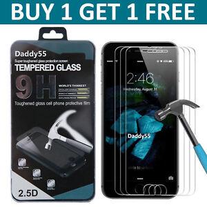 Protection-d-039-ecran-verre-trempe-pour-Apple-iPhone-8-100-Authentique