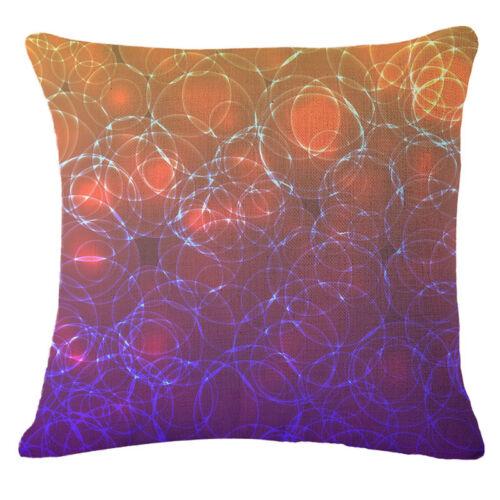"Geometric abstraction digital Throw Pillow Case Cushion Cover Home Decor 18/"""