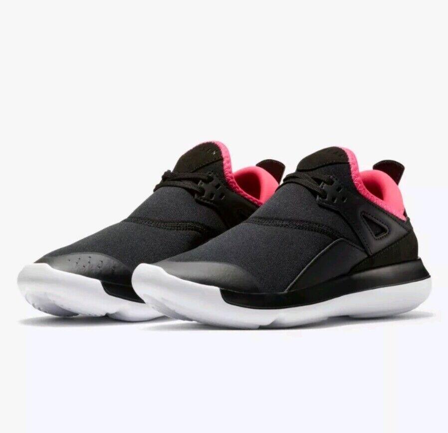 50c849b8a2ee Nike Jordan Fly  89 Sneaker AA4040-009 Women s 10.5 11 Youth 9.5 Black Pink  NEW 647f0c