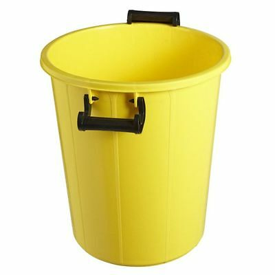 NEW Plastic Rubbish Bin With Lid 48L