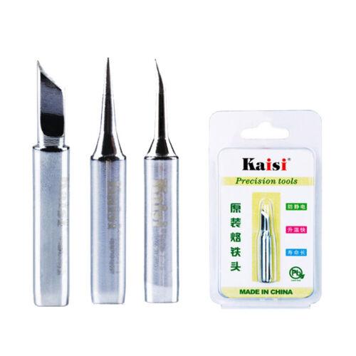 Kaisi 900M 936 Soldering Iron Tips 900M-T-I 900M-T-IS 900M-T-K Black Edition