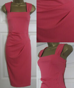 NEW-Dorothy-Perkins-Coral-Bodycon-Shift-Dress-Occasion-Party-Office-6-18-45