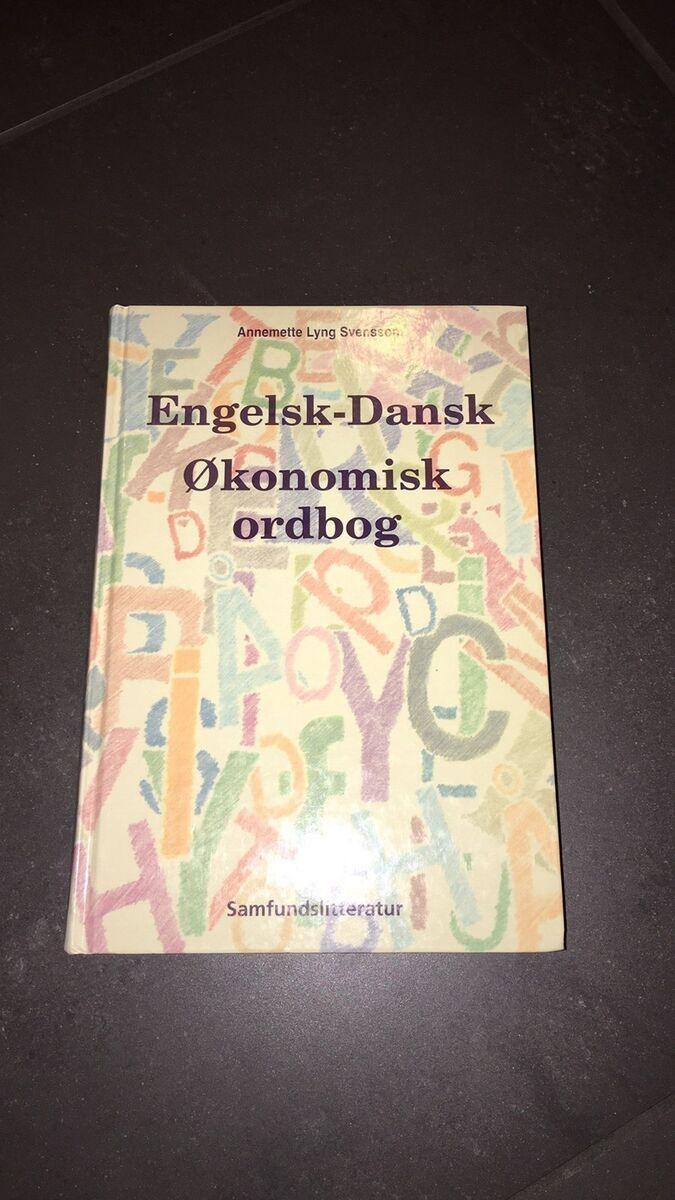 dansk engelsk økonomisk ordbog online