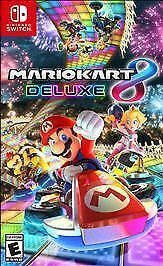 Mario-Kart-8-Deluxe-Nintendo-Switch-2017-Brand-New-Sealed-Free-Shipping